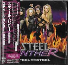 STEEL PANTHER Feel The Steel (+1 Bonus Track) JAPAN CD OBI/ Glam Twisted Sister