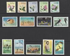 NAURU # 91-104 MNH FLOWERS SPORTS MAPS FISH NATIVES BIRDS
