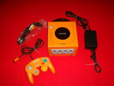 Nintendo Orange Game Cube Console NTSC-J Japan USED E1