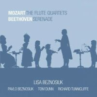 LISA BEZNOSIUK - THE FLUTE QUARTETS/SERENADE  CD NEW WOLFGANG AMADEUS MOZART