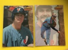 (2) MONTREAL EXPOS  Rusty Staub/Steve Rogers  1994 Ted Williams Card Co  NM-MT