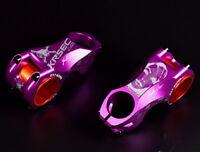 KRSEC -17° stems 31.8/35*60mm MTB XC AM Road Bike handlebar bar Stem Purple