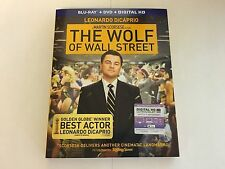 The Wolf Of Wall Street w/Slipcover Blu-ray