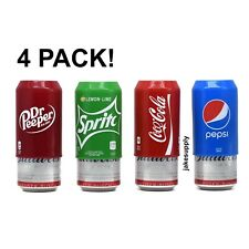 Silicone Beer Can Covers Hide A Beer (4 PACK) Variety Pack