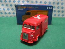 "Rare - CITROEN Type H ""Candy Lait Fruits Choc."" - 1/43 Tomica Dandy"
