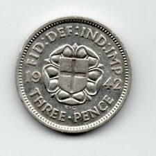 Great Britain - Engeland - 3 Pence 1942