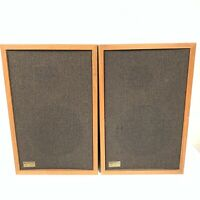 REALISTIC MC-1000 Walnut Veneer Speakers - Tested - Sounds Great!