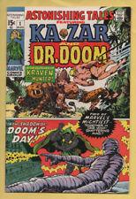 Astonishing Tales #1 August 1970, Marvel, 1970 Series Kirby/Wood VF/NM