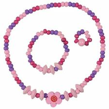 SMITCO Toddler Jewelry for Girls - Kids Wooden, Beaded Toy Necklace, Bracelet...
