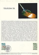 DOCUMENT PHILATÉLIQUE - YT 2055 - 1er JOUR 1979