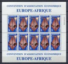29691) Gabon 1965 MNH New Europafrique Ms