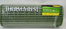 "ThermaRest RidgeRest Small Green 20"" x 48"" Closed-Cell Sleep Pad NEW"