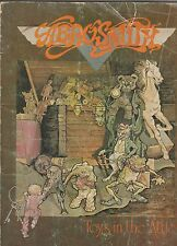 ORIGINAL Aerosmith Sheet Music Book Toys in the Attic 1975 Warner Bros FREE SHIP