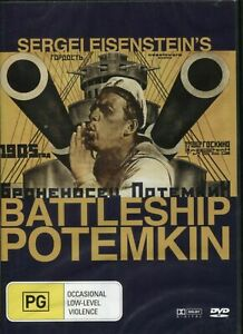 Sergei Eisenstein's Battleship Potemkin DVD Region 4