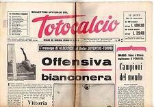 rivista BOLLETTINO UFFICIALE DEL TOTOCALCIO 21 FEBBRAIO 1967 NUMERO 8