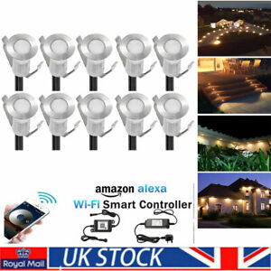 19mm Warm White LED Deck/Decking/Plinth/Kickboard/Recessed Kitchen/Garden light