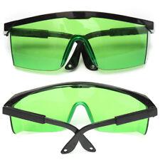 Protective Green Goggles for Violet/Blue 200-450/800-2000nm Laser Safety Glasses