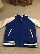 H&M Boys Blue And Cream Jacket  Size EUR 122 BNWT