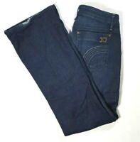 JOES JEANS Womens THE ROCKER Low Rise Bootcut Jeans Dark Wash Size 27 REGULAR