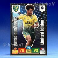 Panini Adrenalyn XL 2019-2020: Hernanez Limited Edition. Norwich. Premier League