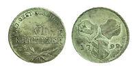 pcc1475_24) AUSTRIA - Francesco II (1792-1806) - 6 Kreuzer - 1799 H