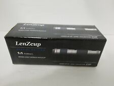 Lenzcup Special Edition Thermos Mug/Cup Model 1:1 Canon 70-200MM F4 White NEW
