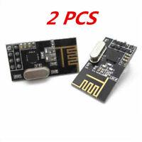 2Pcs Arduino NRF24L01+ 2.4GHz Wireless RF Transceiver Modules JT
