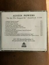 MADONNA - Austin Powers Spy Who Shagged - VERY RARE In House Reference PROMO CD
