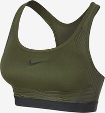 Nike Pro Hyper Classic Padded Medium Support Sports Bra Size S 832068-331 New