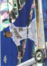JESSE HAHN 2017 TOPPS CHROME SAPPHIRE EDITION #140 ONLY 250 MADE