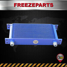 19 ROW AN-10AN Universal Aluminum Engine Transmission Oil Cooler Mocal Style