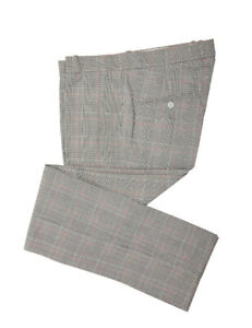 Relco Mens Prince of Wales Check Trousers Stay Sta Press Retro Mod Skin Ska