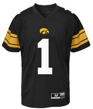 4f63bf678 New NWT Iowa Hawkeyes Jersey  1 Youth Boys Size M Medium 10 12 Black