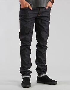 Wrangler Men's Jeans Stomper Skinny Tapered Color Indigo Raw BNWT