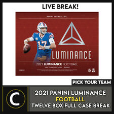 2021 PANINI LUMINANCE футбол 12 коробка (полный чехол) перерыв #F755 — выбирайте свою команду
