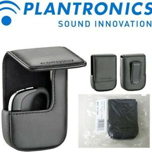 Plantronics 81293-01 Voyager Pro Black Leather Carrying Case FREE FAST SHIPPING