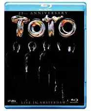 BLU RAY NEUF TOTO LIVE IN AMSTERDAM  25TH ANNIVERSARY ! NEW !