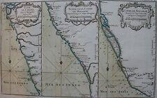 INDES - Coste de CANARA depuis MANGALOR jusqu'à GOA, depuis CRANGANOR jusqu'à MA
