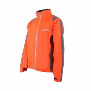 Proviz Nightrider Hi Visibility Women's Cycling Jacket Orange Size 12 Hi Viz