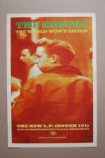 The Smiths Concert Tour PosterThe World Wont Listen