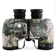 Boshile 10X50mm Binoculars Range Finder Lenses Waterproof Compass Metal IPX-7