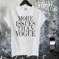 More Issues Than Vogue T Shirt Celine Celebrity Ted Baker Fashion Saturn Eyelash