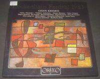 Gidon Kremer Ashkenazy Hagen Quartet Iwasaki Kennedy Maisky Etc 4 LP Box EX