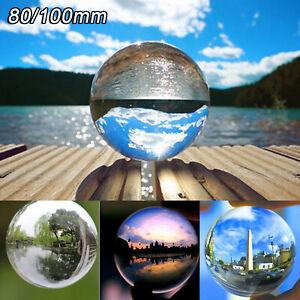 80mm 100mm Klar Fotokugel Glaskugel Fotografie Glas Kristallkugeln Crystal Ball