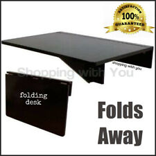 Folding Wall Mounted Laptop Computer Desk Or Drop Leaf Dining Table Compact New