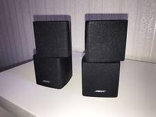Ein Paar / 2 Stück / 4 Würfel Bose Acoustimass Doppelcube Lautsprecher Lifestyle