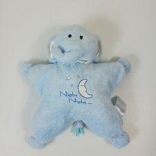 "Kids Preferred Elephant Plush Night Night Blue Moon 11"" Stuffed"