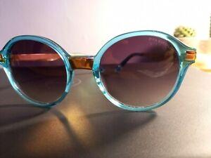 DITA BURMILLA 22019-D-AQU-GLD-51 Sunglasses