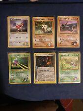 gym heroes pokemon card lot!