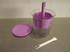 Tupperware pick-a-deli round NAIA, sheer / pale purple